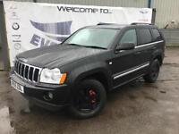 2005 JEEP GRAND CHEROKEE 3.0 V6 CRD LIMITED DIESEL SAT NAV GREY LEATHER SEATS RE