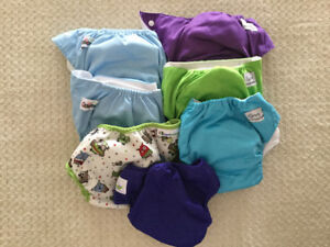 One Size Cloth Diapers and Covers