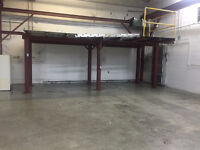 STEEL I BEAMS FOR SALE. CURRENTLY ASSEMBLED.