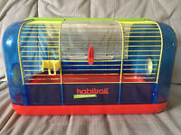 Hamster (or gerbil) cage, tubes and accessories