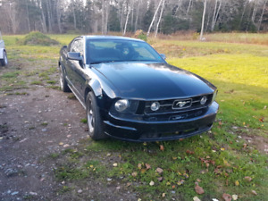 2008 mustang pony package **120xxxkms**