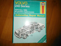 1976 -1993 Volvo 240 242 244 245 DL GL GLT Turbo Service Manual