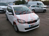 2015 Skoda Citigo SE 12V Auto 1.0 DAMAGED REPAIRABLE SALVAGE