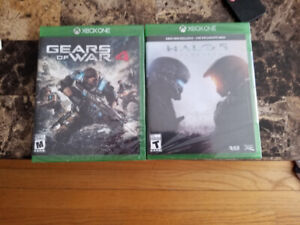 New sealed xbox one games