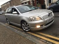 TOYOTA AVENSIS 2005 AUTOMATIC T4 2.0 HISTORY+CD+A/C+NW MOT