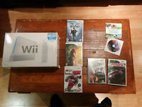 Console Wii et Rock band