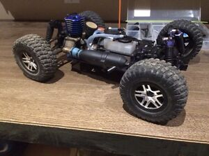 Nitro powered R/C  Rally Truck