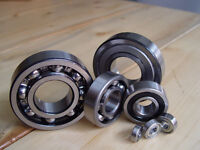 All types of Bearings/Roulements