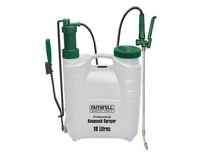 Faithfull Professional Knapsack Sprayer with Viton� Seals 16L