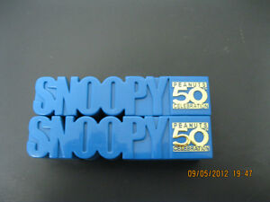 PEANUTS    SNOOPY       50TH  CELEBRATION    HAVE   TWO