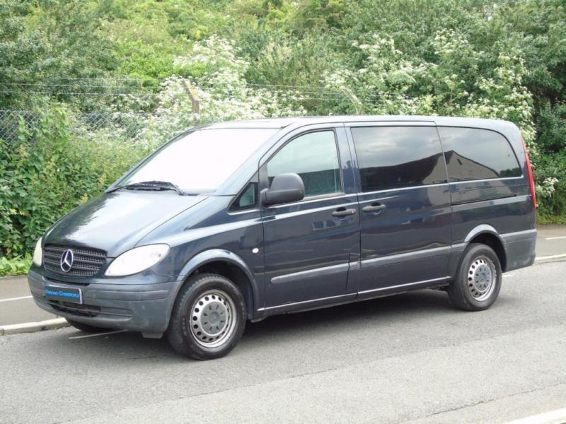 2004 04 mercedes benz vito 2 1 109 cdi long traveliner lwb for 2 seater mercedes benz