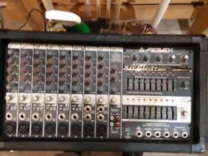 Amplificateur, Haut-parleur, Table de mixage, Multi-effet, Micro