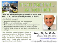 It's All About You...And Your Home!