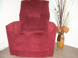 Fauteuil (bercant/inclinable)