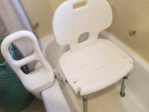 tub chair and toilet assist