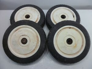 Wheels for Lawn Mowers