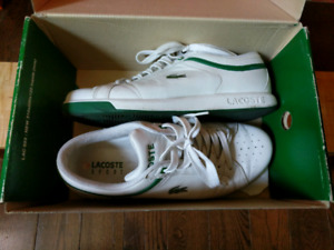 Lacoste sneakers (sz 9 mens) - worn, good condition - $15