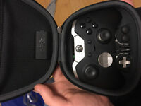 Xbox one Elite Controller + Play and charge kit