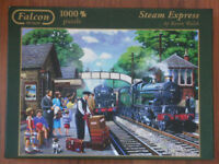 Casse-tete FALCON train puzzle STEAM EXPRESS – 1000pcs/mcx