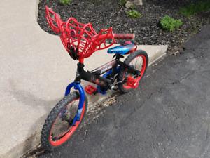 Huffy spiderman bike
