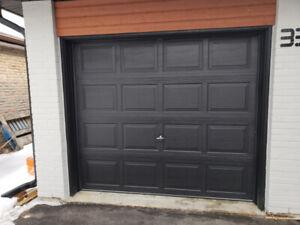 8' x 7' Insulated Garage Door