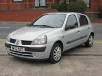 52 RENAULT CLIO 1.2 16v EXPRESSION + NEW MOT + 5 DOOR