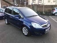 Vauxhall Zafira 1.9 Cdti Breeze Plus, *7 Seater* Alloys Air Con, 12 Month Mot, 3 Month Warranty
