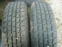 USED TIRES - PAIRS AND SETS OF 4