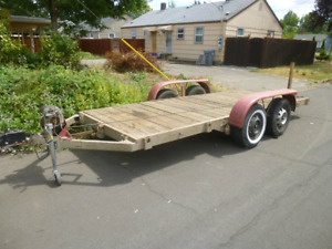 Old utility trailers