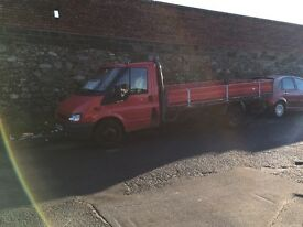 Ford transit 2.4 LWB flatbed 6speed recovery truck