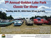 Classic Car Show -  Golden Lake Park Campground