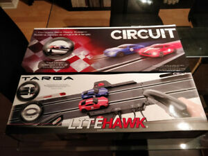 Litehawk Circuit Targa Toy Slot Car Racing Track