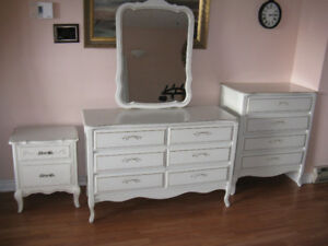 BEDROOM DRESSER SET - S O L D  for $275