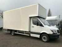 MERCEDES SPRINTER 313 / 314 LWB JUMBO 5.2M NEW BUILD DROPWELL LUTON BOX VANS EU6