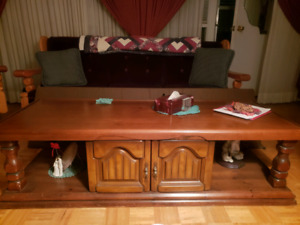 Coffee table matching end table