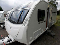 Swift Archway Ruby Twywell 2013 Transverse Island Bed 4 Berth Touring Caravan