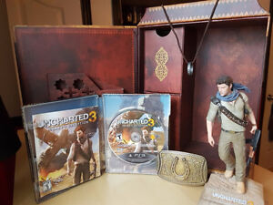 Uncharted 3 Collector's edition + Uncharted 1 et 2