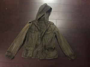 Talula Army Green Trooper Jacket Size Small