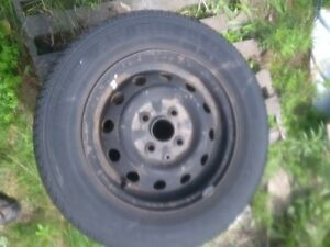 motomaster AW all season tires plus rims for Hyundi Stratford Kitchener Area image 2