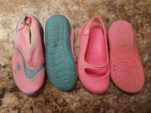 Toddler girl Water shoes size 8