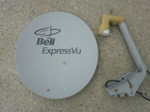 Bell Satellite Express Vu Dish