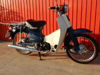 HONDA SUPER CUB C50S8 2010 49cc MOT'd Oct 2018 WITH 4 SPEED