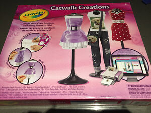 Crayola Catwalk Creations - clothing design