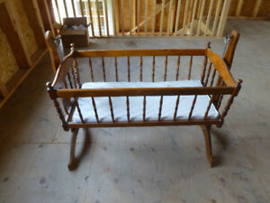 Antique Baby Cradle