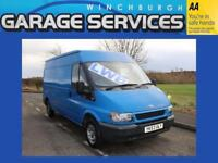 FORD TRANSIT LWB GOOD CONDITION LOW MILES
