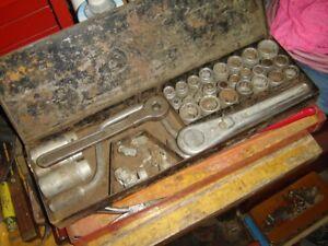 Antique Socket set