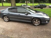 Peugeot 407 2.0 Diesel - fully serviced this month