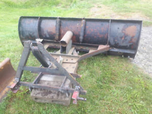 6ft 3pth  snow plow for tractor (manual angle) HEAVY DUTY!