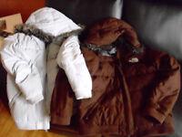 Manteaux d'hiver North Face
