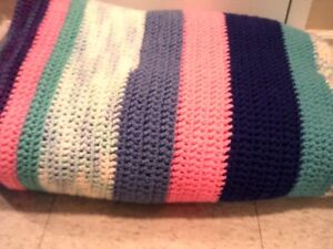 Exquisite hand made King Size blanket